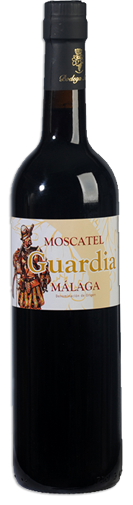 Botella Moscatel Guardia